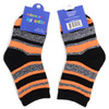 12pairs Assorted Boy's Striped Pattern Crew Socks TDST