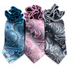 Paisley Tie & Matching Pocket Round Set MPWTH170633