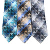 Abstract Pattern Tie & Matching Pocket Round Set MPWTH170636