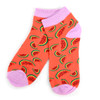 Assorted Pack (6 pairs) Women's Watermelon Novelty Low Cut Socks EBA-679