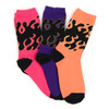 4-Packs (12 Pairs) Women's Fire Novelty Socks EBC-656