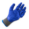 12 Pack Working Gloves with Rubber Palm Coated - Blue- WGL1713
