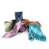 Geometric Microfiber Poly Woven Tie - MPW5925