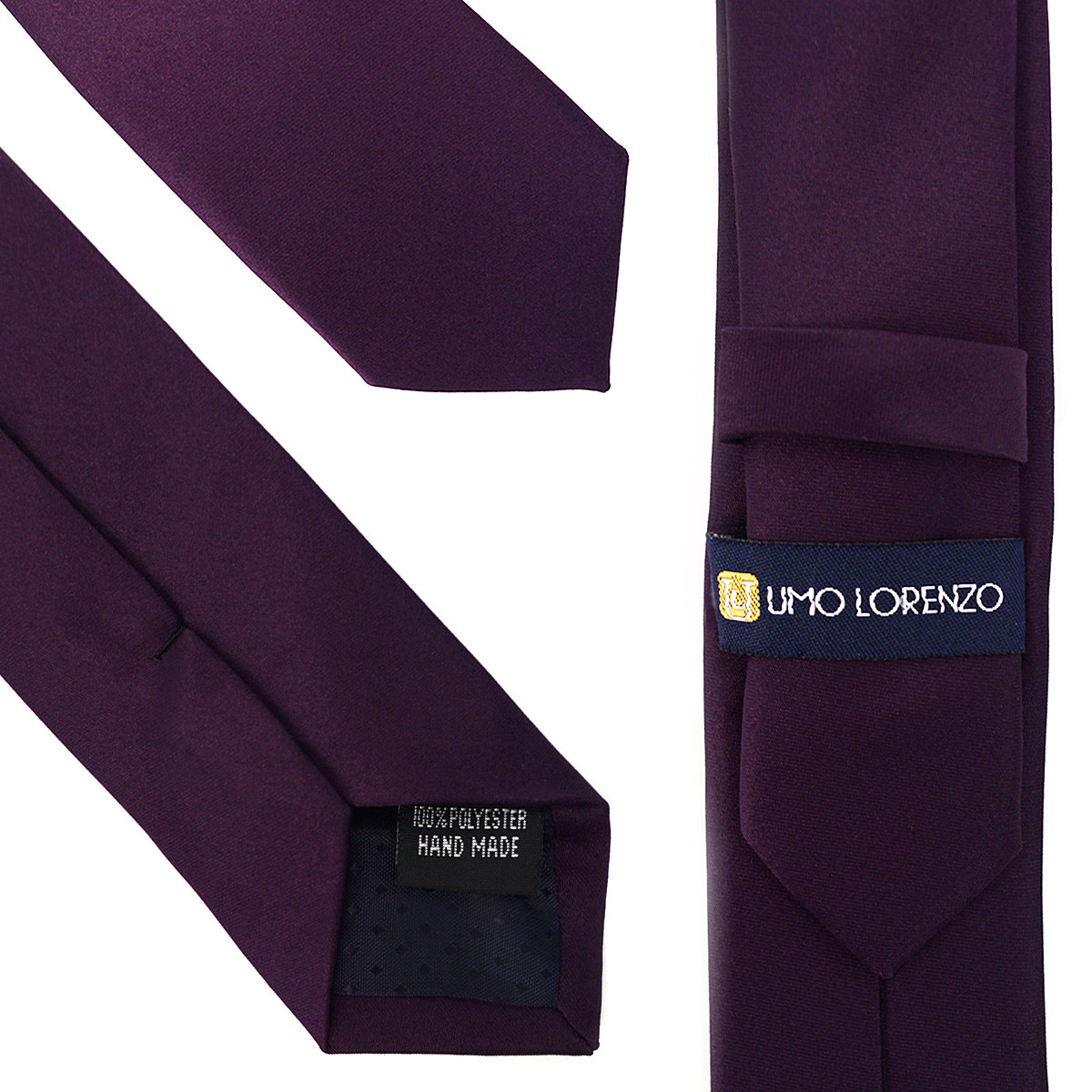 """Poly Solid 2"""" Slim Tie PPS2501"""