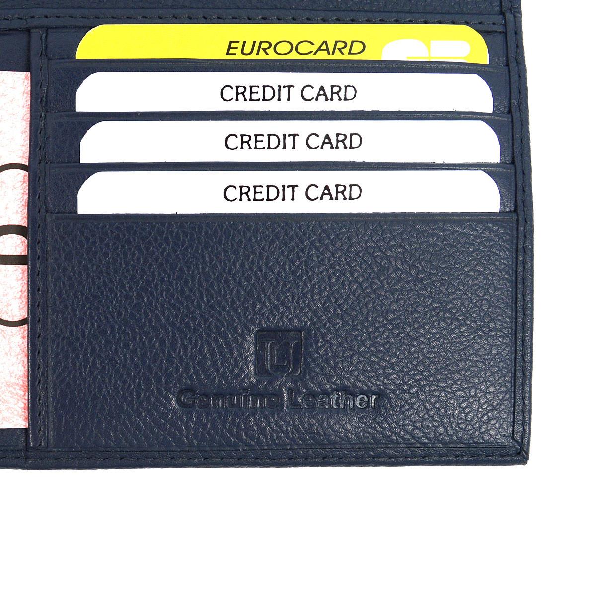 RFID Genuine Leather American Eagle Embossing Passport Case RFID-GLPC2