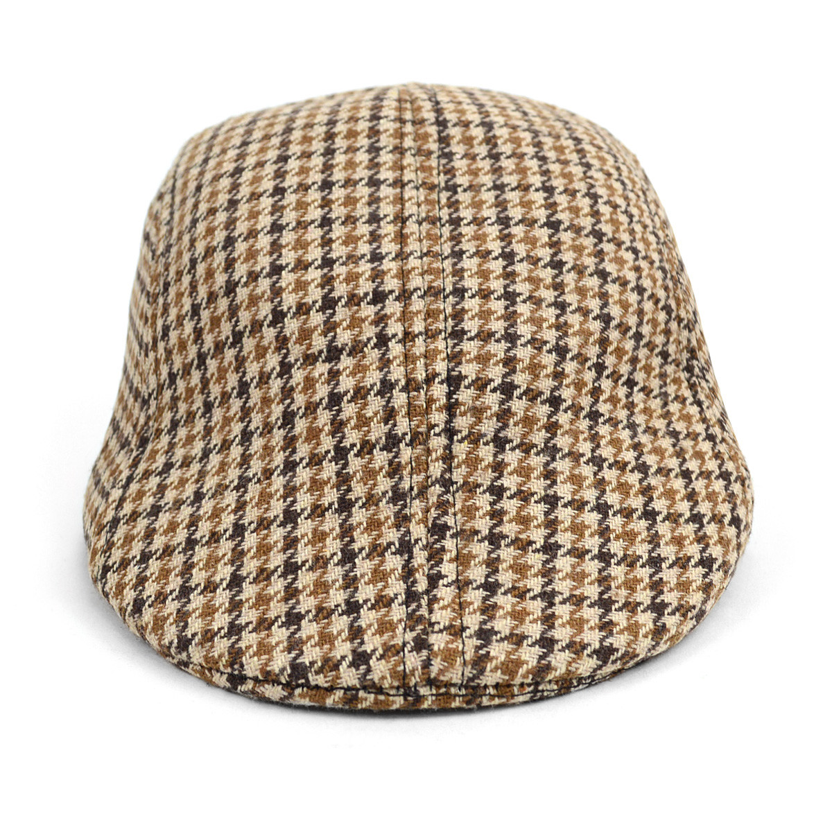 Fall/Winter Hound's Tooth Ivy Hat - IFW1724