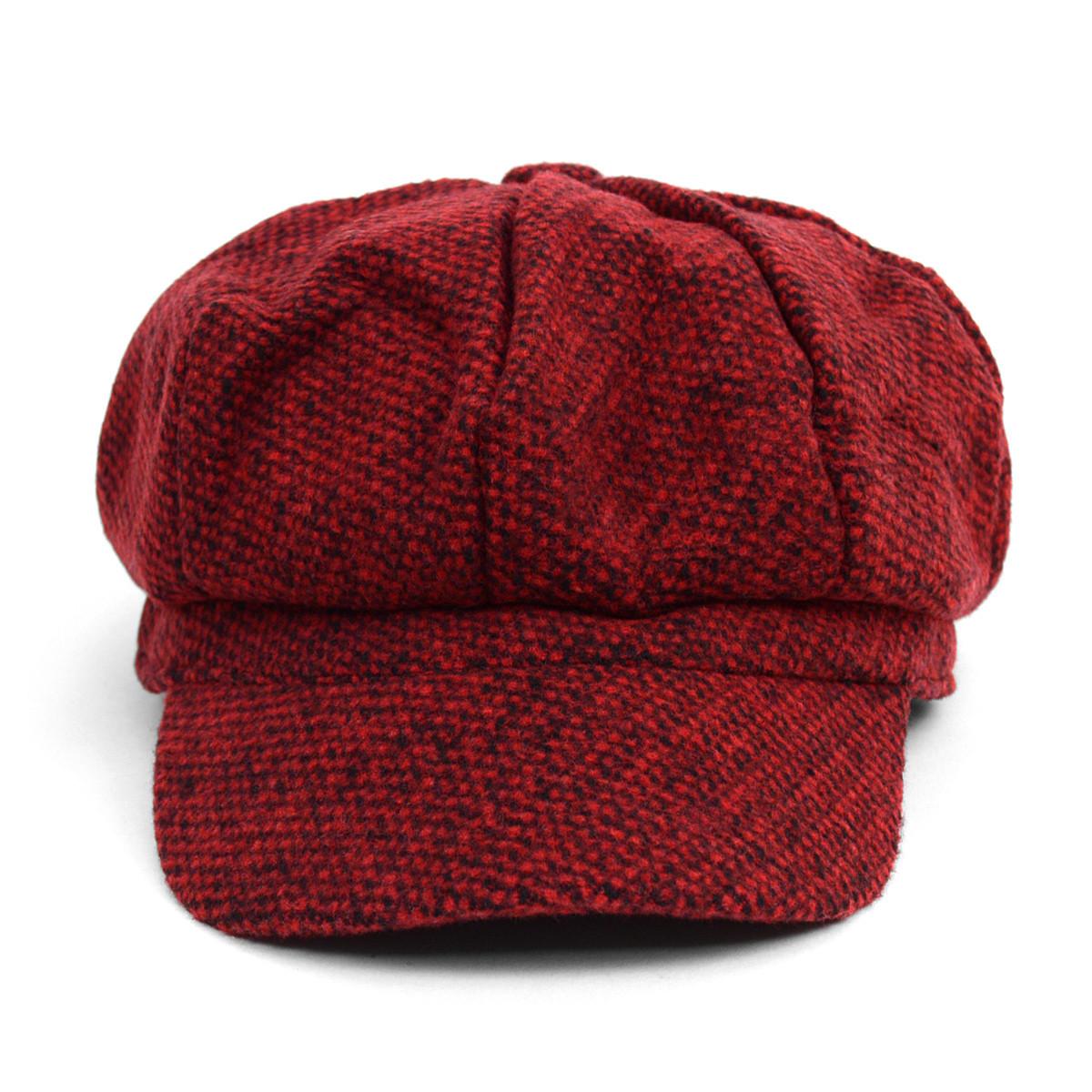Fall/Winter Unisex British Newsboy Beret Style Cap - WNH1761-65-66