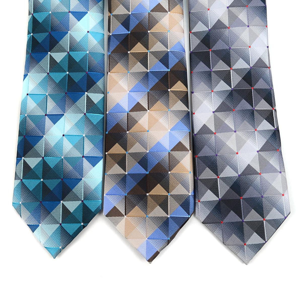 Abstract Pattern Tie & Matching Pocket Round Set MPWTH170636