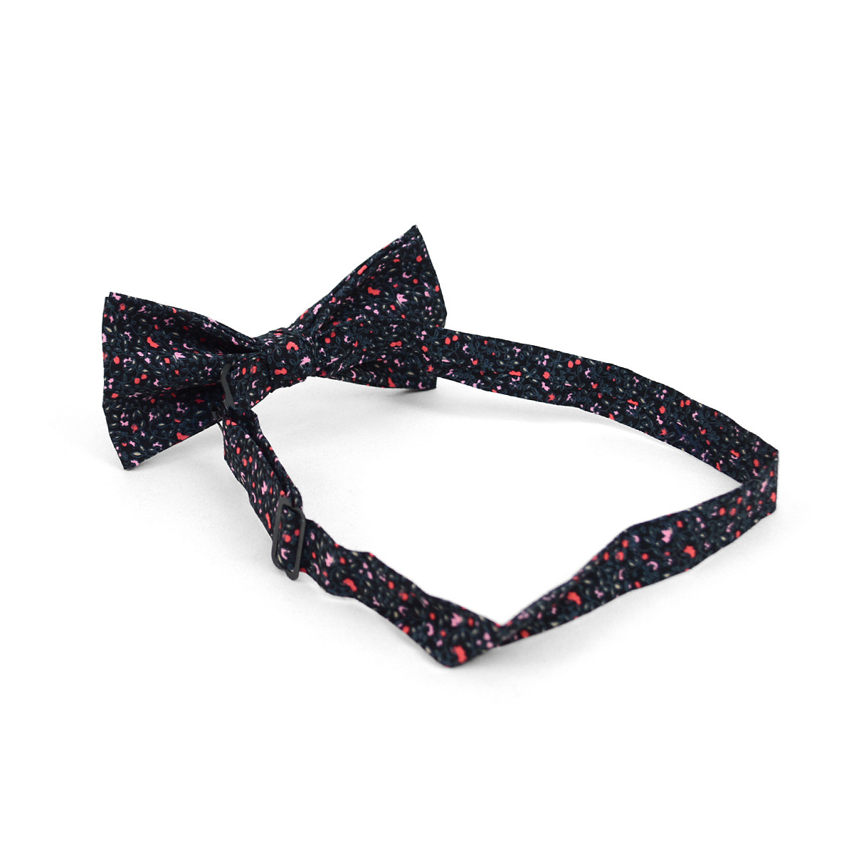 3pc Floral Wedding Cotton Banded Bow Tie - NFCB17126