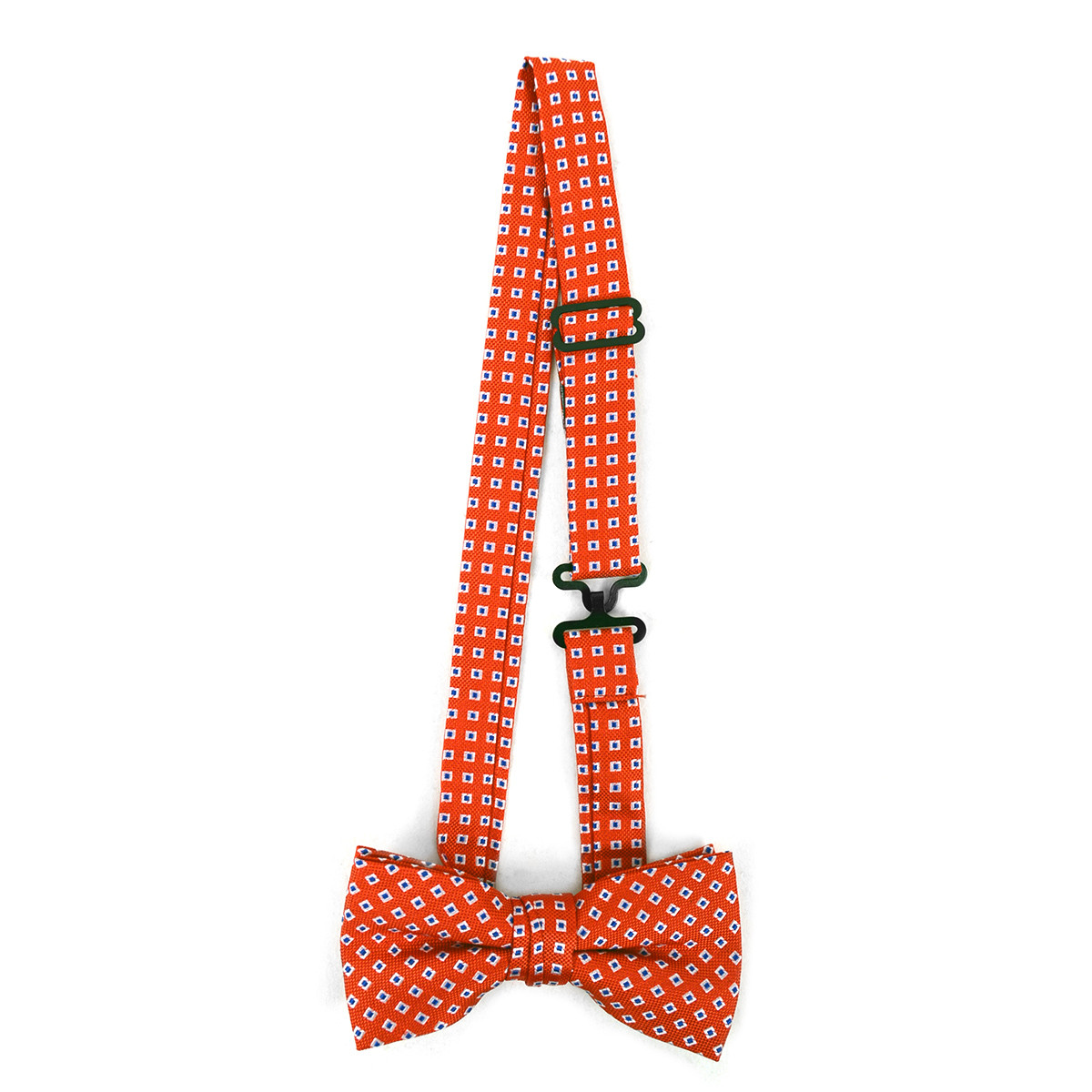 Boy's Red Clip-on Suspender & Dotted Matching Bow Tie Set(4~7 Years)