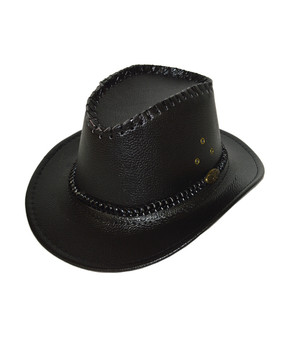 "6pc 2.5"" Brim Cowboy Hat H9347"