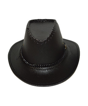 "6pc Pack 2.5"" Brim Cowboy Hat H9347"