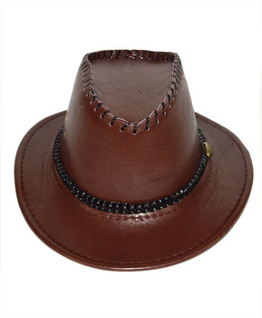 "6pc Pack 2.5"" Brim Cowboy Hat H9348"