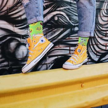 4-Packs (3 pairs/pack) Women's Emoji Novelty Socks EBCH-832