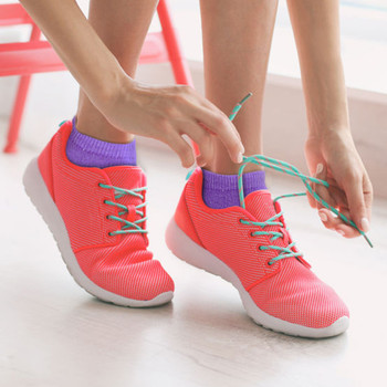 4-Packs (6 pairs/pack) Assorted Women's Spring Colors Solid Low Cut Socks LN6S1630
