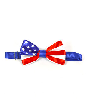American Flag Banded Bow Ties NFB10001