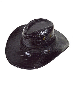 "6pc 3.5"" Brim Cowboy Hat H9350"
