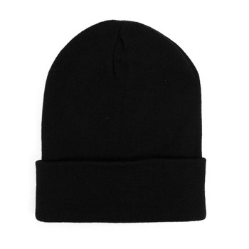 Thermal Windproof Winter Black Beanie Ski Hat -  SCAP01