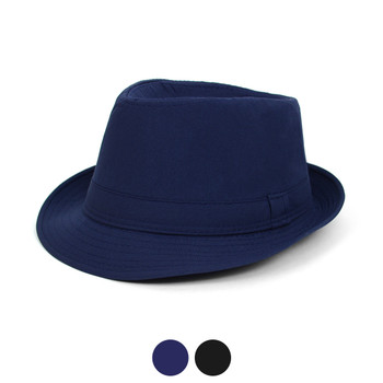 Fall/Winter Light Weight Solid Color Trilby Fedora Hat - H1805047