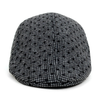 Fall/Winter Charcoal Dots Ivy Hat - H1805009