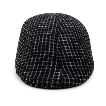 Fall/Winter Charcoal Plaid Ivy Hat - H1805013