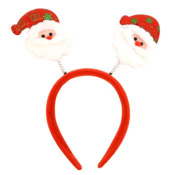 Christmas & Holiday Santa Claus Head Band - XWDC5109-H