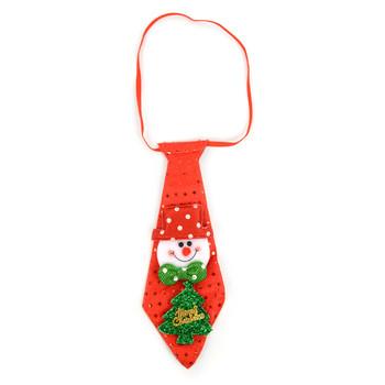 Light Up Christmas Snowman Tie - XAP5313-SN