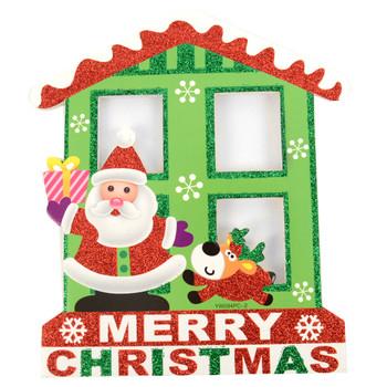 Merry Christmas Santa Claus Yard Sign- XLW5137