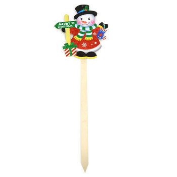 Snowman Merry Christmas Yard Sign - XLW5138