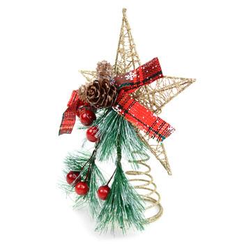 Star Christmas Tree Topper Ornaments - XMAO5228