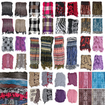 120pc Mixed Fall/Winter Viscose Fashion Scarves HVscarf-CO-120