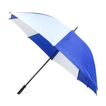 Manual  Open Blue & White Canopy Umbrella - UM18054-BL/WH