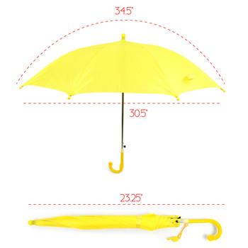 Kid's Solid Color Umbrella - UK18012