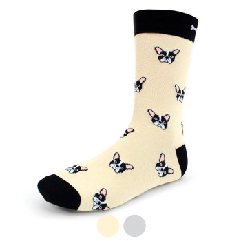Men's French Bullgdog Novelty Socks - NVS1909
