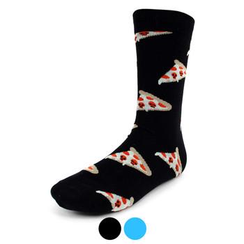 Men's Pizza Slice Novelty Socks - NVS1911