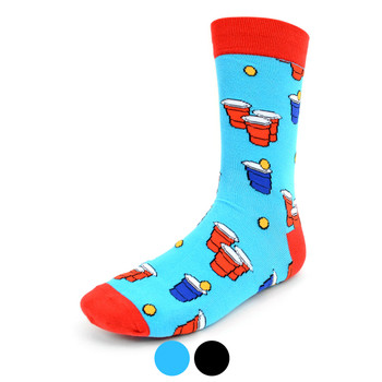 Men's Beer Pong Novelty Socks - NVS1912
