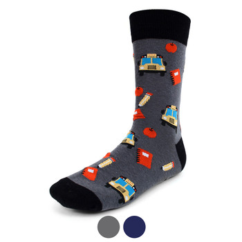 Men's Back to School Novelty Socks - NVS1915