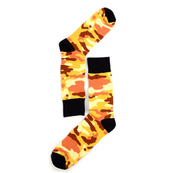 Men's Color Camo Novelty Socks - NVS19288