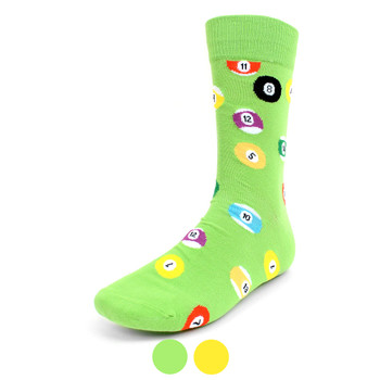 Men's Billiard Novelty Socks - NVS19300