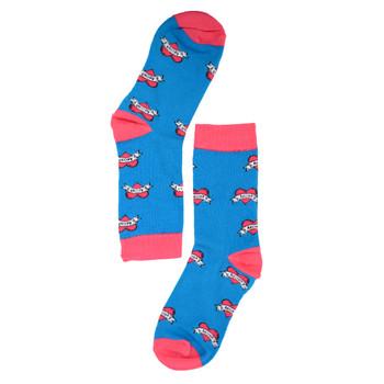 Women's Love Mom Novelty Socks - LNVS1902