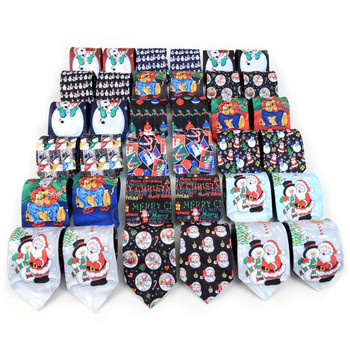 36pc  Assorted Pre-pack Christmas Neckties - XMT36