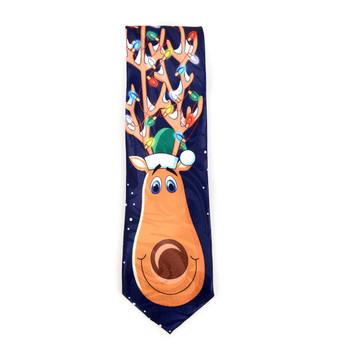 Men's Poly Woven Jacquard Christmas Neckties - XMT1802