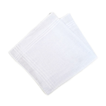 Case Pack Deal Men's White Handkerchiefs - PH003