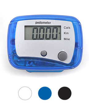 12pc Ultra-Mini LED Pedometer PDM1