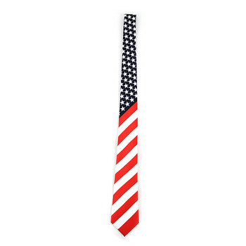 American Flag Novelty Tie NV13129