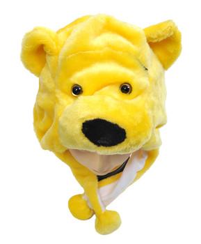 Animal Plush Hat - Golden Bear HATC1090