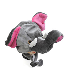 6pc Pre-Pack Animal Plush Hat - Elephant HATC1150