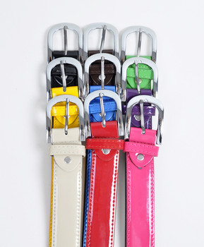 12pc Pack Ladies Synthetic Belts CHX8