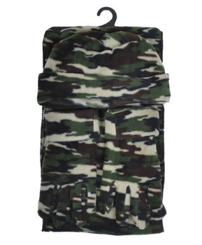6pc Pack Women's Polyester Fleece Winter Set WSET7030