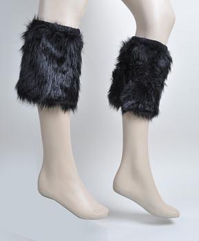 12pc Prepack Faux Fur Winter Leg Warmers - FLW1002